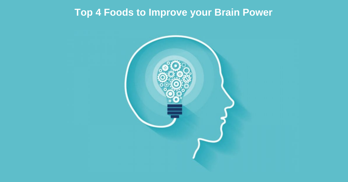 Top 4 Foods to Improve your Brain Power